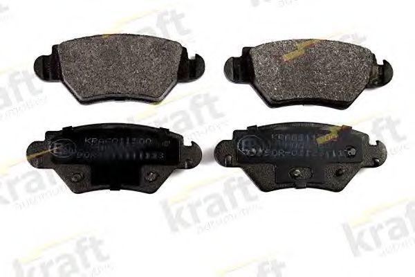 Колодки тормозные KRAFT AUTOMOTIVE 6011500