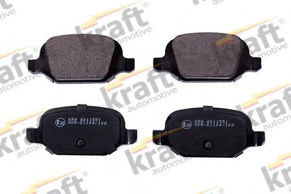 Колодки тормозные KRAFT AUTOMOTIVE 6011551
