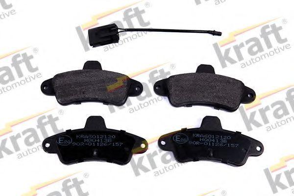 Колодки тормозные KRAFT AUTOMOTIVE 6012120
