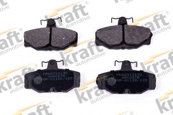 Колодки тормозные KRAFT AUTOMOTIVE 6012130