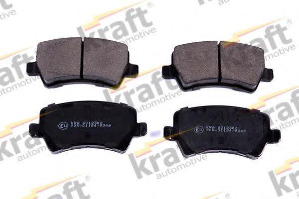 Колодки тормозные KRAFT AUTOMOTIVE 6012302
