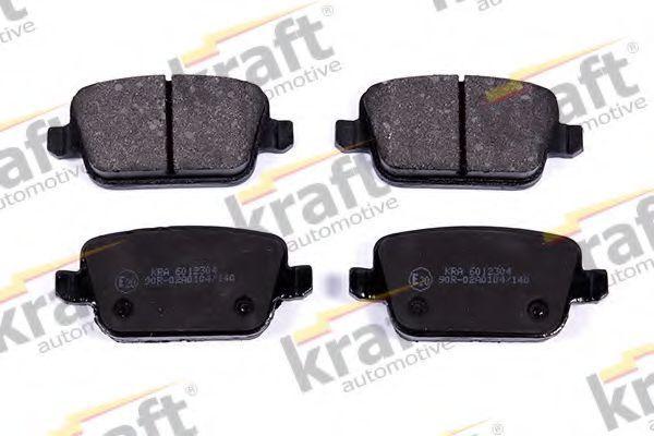 Колодки тормозные KRAFT AUTOMOTIVE 6012304