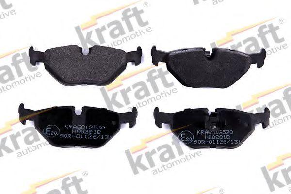 Колодки тормозные KRAFT AUTOMOTIVE 6012530