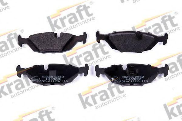 Колодки тормозные KRAFT AUTOMOTIVE 6012550