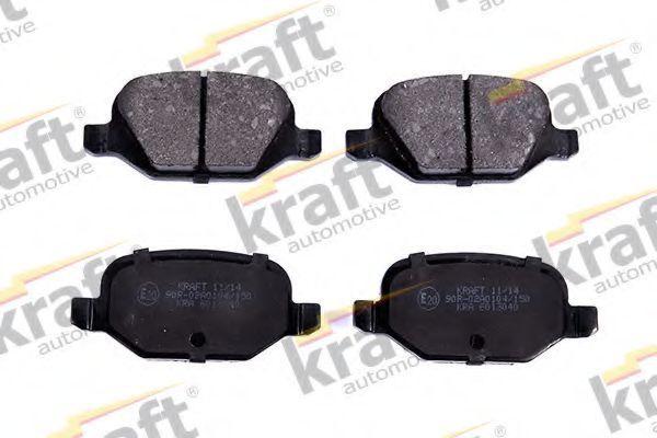 Колодки тормозные KRAFT AUTOMOTIVE 6013040