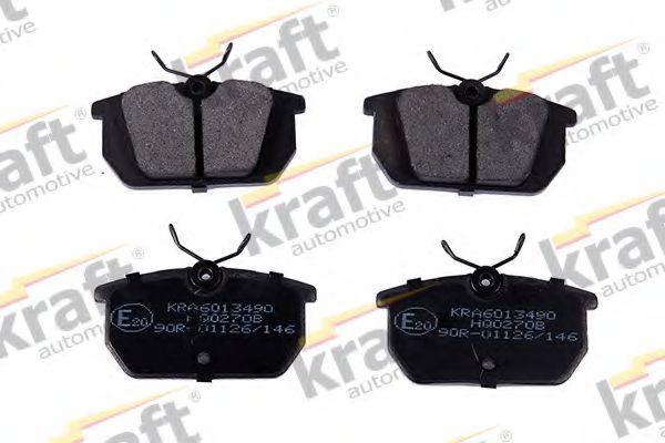 Колодки тормозные KRAFT AUTOMOTIVE 6013490