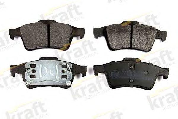Колодки тормозные KRAFT AUTOMOTIVE 6015105