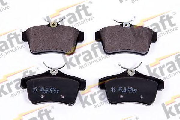 Колодки тормозные KRAFT AUTOMOTIVE 6015682
