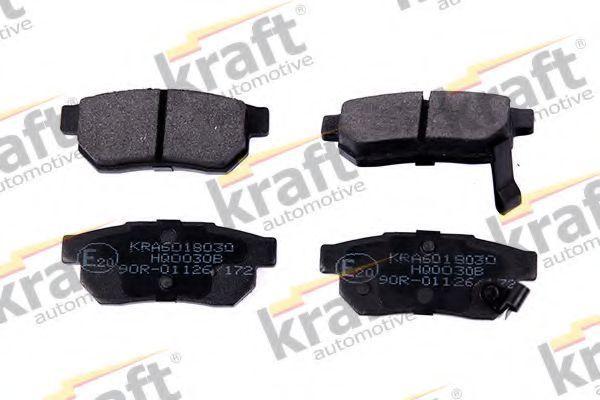 Колодки тормозные KRAFT AUTOMOTIVE 6018030