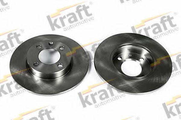 Диск тормозной KRAFT AUTOMOTIVE 6040010