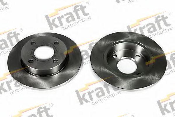 Диск тормозной KRAFT AUTOMOTIVE 6042095