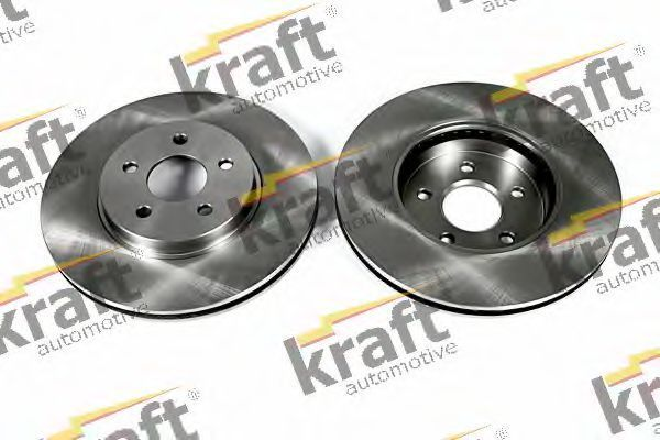 Диск тормозной KRAFT AUTOMOTIVE 6042590