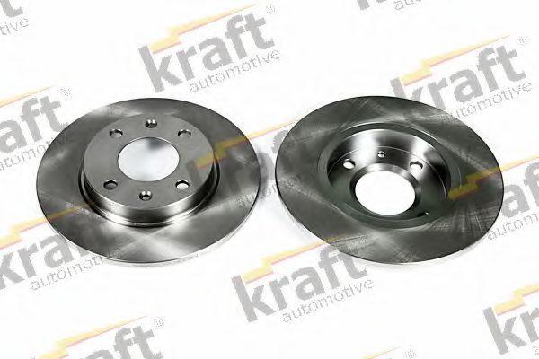 Диск тормозной KRAFT AUTOMOTIVE 6045510