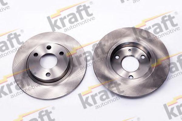 Диск тормозной KRAFT AUTOMOTIVE 6045950