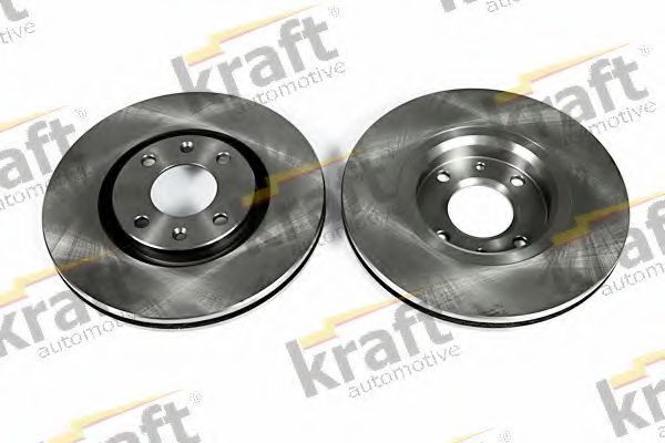 Диск тормозной KRAFT AUTOMOTIVE 6046000