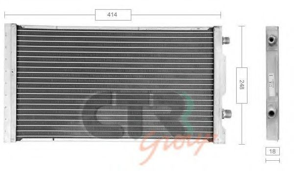 Конденсатор, кондиционер CTR 1223801