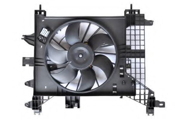Вентилятор, охлаждение двигателя ASAM 32102