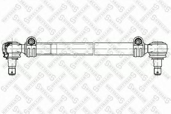 Поперечная рулевая тяга Stellox 8435046SX