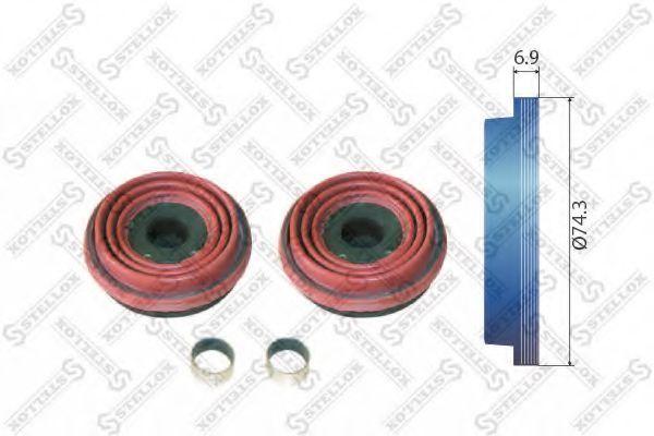 Ремкомплект, тормозной суппорт Stellox 8510326SX