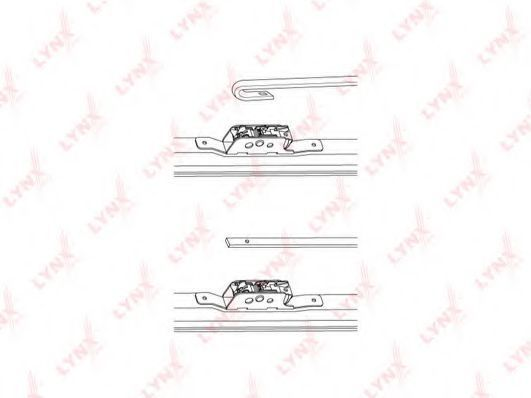 Щетка стеклоочистителя LYNXauto LW500