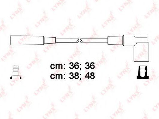 Комплект проводов зажигания LYNXauto SPC4615