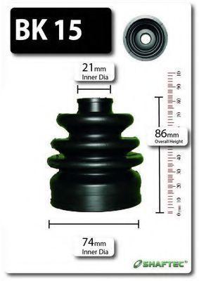 Комплект пылника, приводной вал SHAFTEC BK15