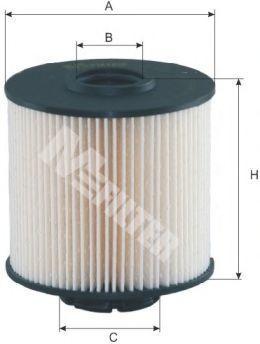 Фильтр топливный MFILTER DE 631
