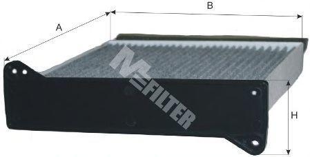 Фильтр салона MFILTER K9028C