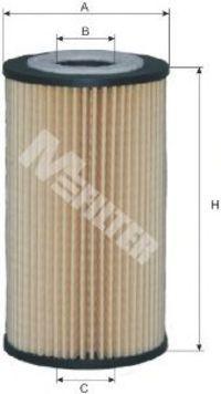 Фильтр масляный MFILTER TE601