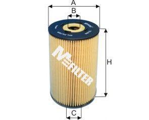 Фильтр масляный MFILTER TE 606