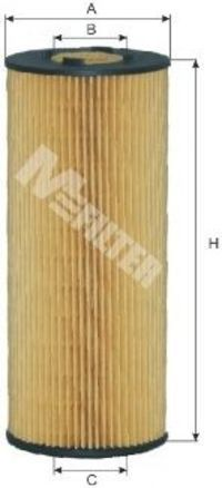 Фильтр масляный MFILTER TE 607