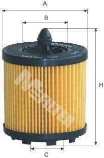 Фильтр масляный MFILTER TE615