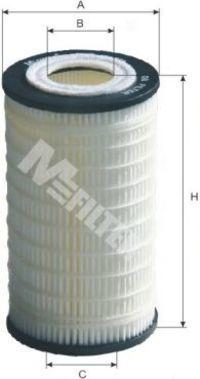 Фильтр масляный MFILTER TE620
