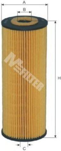 Фильтр масляный MFILTER TE622