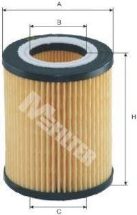 Фильтр масляный MFILTER TE 625