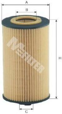 Фильтр масляный MFILTER TE 627