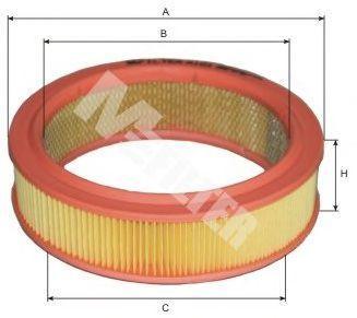 Фильтр воздушный MFILTER A101