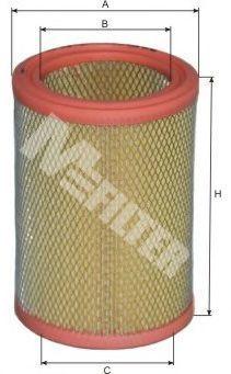 Фильтр воздушный MFILTER A102