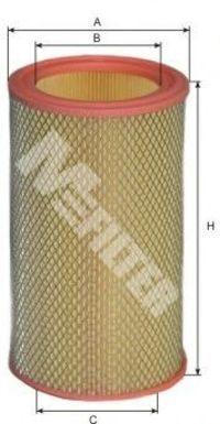 Фильтр воздушный MFILTER A107
