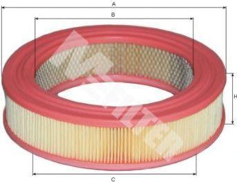 Фильтр воздушный MFILTER A 125