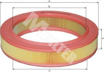 Фильтр воздушный MFILTER A127