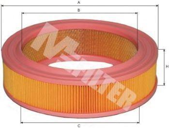 Фильтр воздушный MFILTER A128