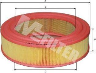 Фильтр воздушный MFILTER A129
