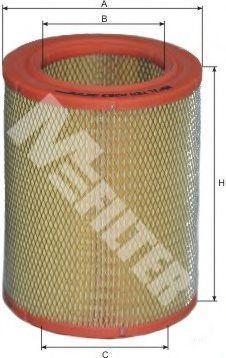 Фильтр воздушный MFILTER A263