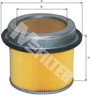 Фильтр воздушный MFILTER A267