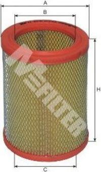 Фильтр воздушный MFILTER A 276