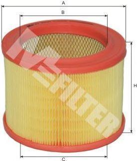 Фильтр воздушный MFILTER A289
