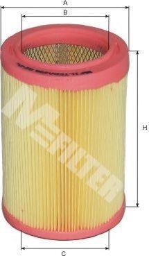 Фильтр воздушный MFILTER A396