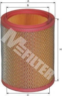 Фильтр воздушный MFILTER A 399