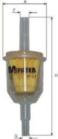 Фильтр топливный MFILTER BF01